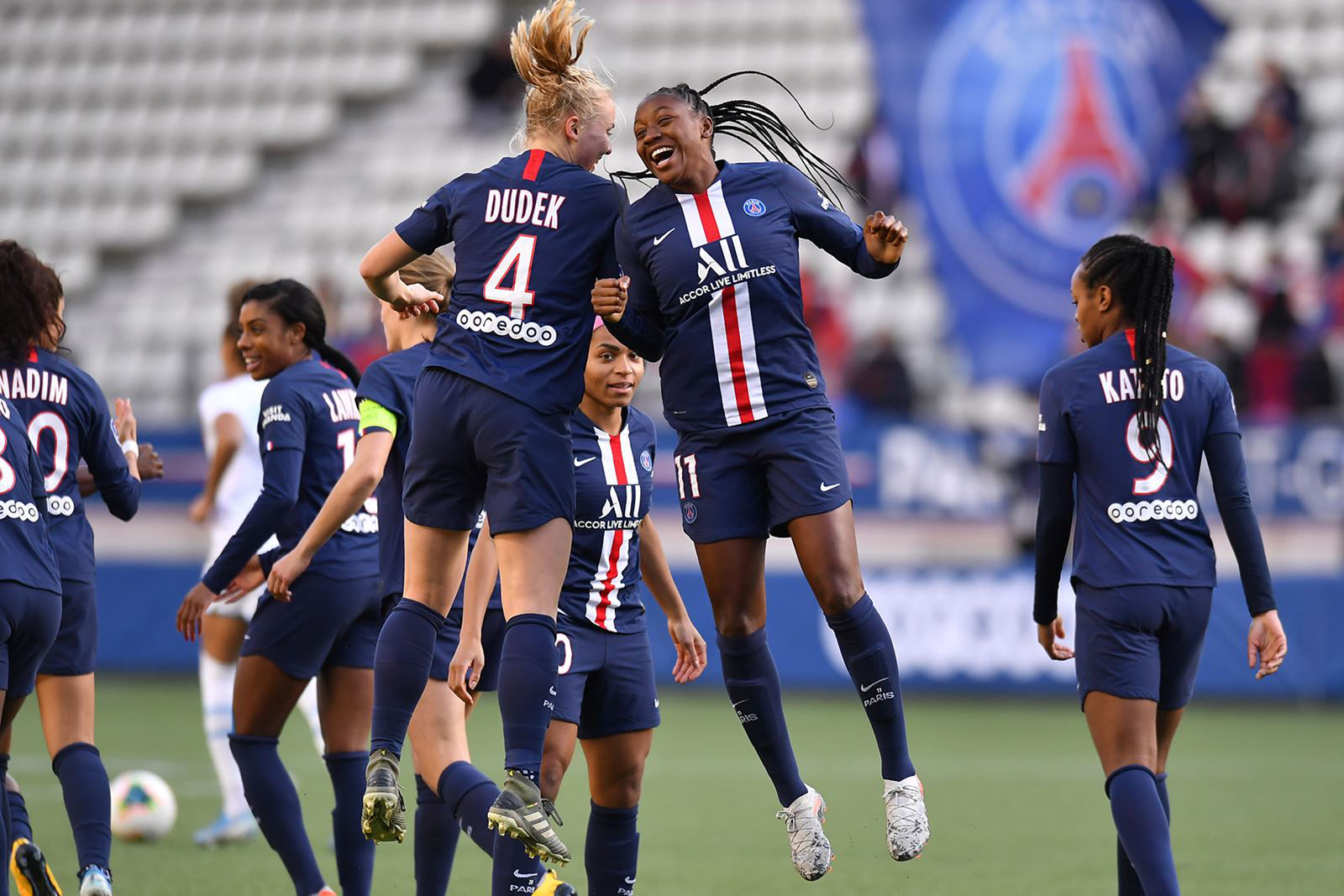 50 years of PSG Féminines